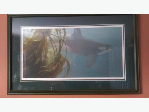 Robert Bateman signed print