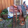 Rare Billy Cook Roping Saddle