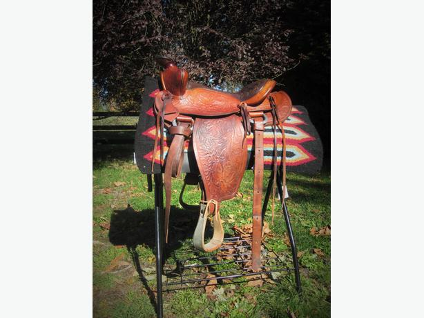 "Big Horn 15"" Trail Saddle"