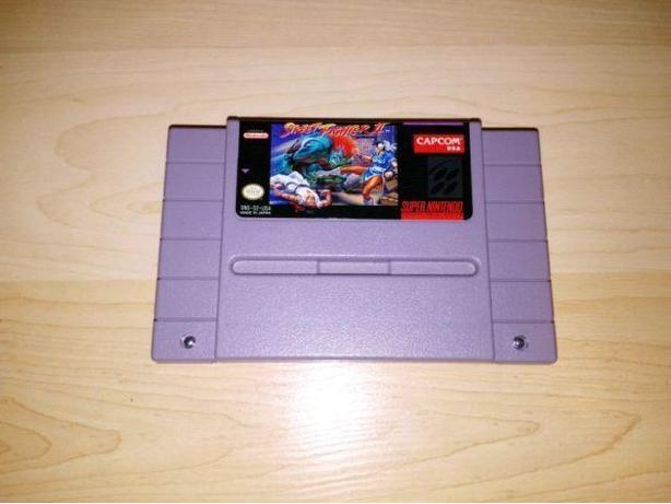 Street Fighter 2 For The Super Nintendo