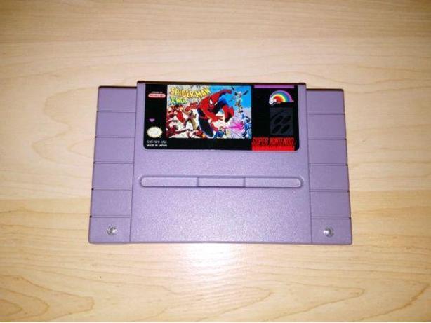 Spiderman & X-men For The Super Nintendo