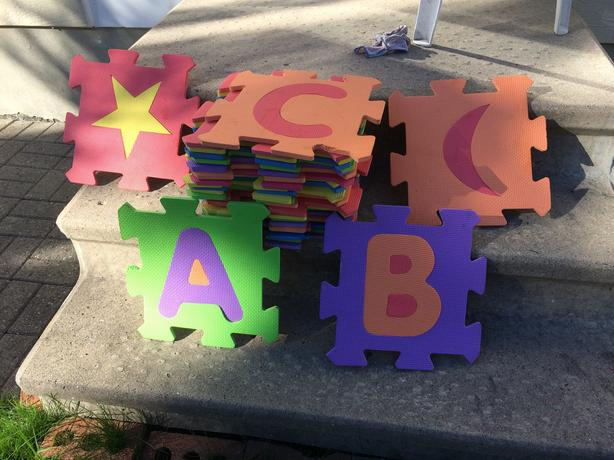 Alphabet Floor Pads / Mats
