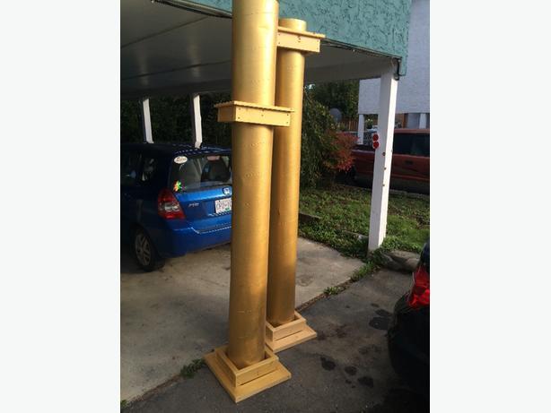 to handbuilt pillars good for drama