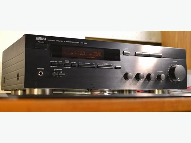 YAMAHA RX-385 STEREO RECEIVER, GREAT YAMAHA SOUND !