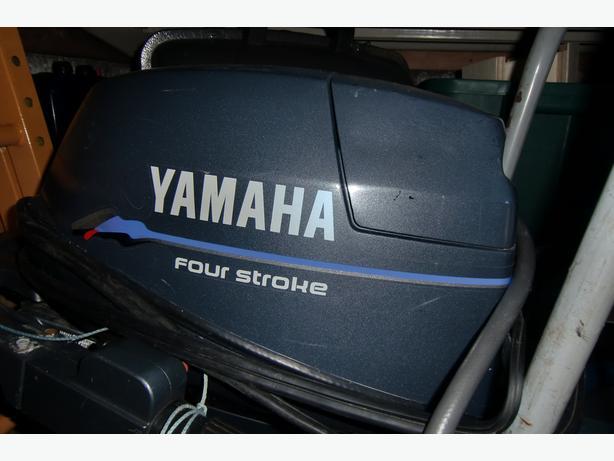 9.9hp Yamaha hightrust outboard motor