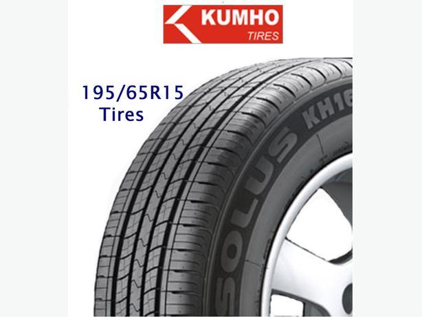 "195/65R15"" tires ~ Kumho Solus"