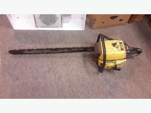 McCullough chain saw