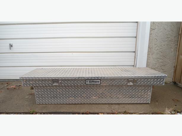 MOPAR ALUMINUM TRUCK TOOL / CARGO STORAGE BOX