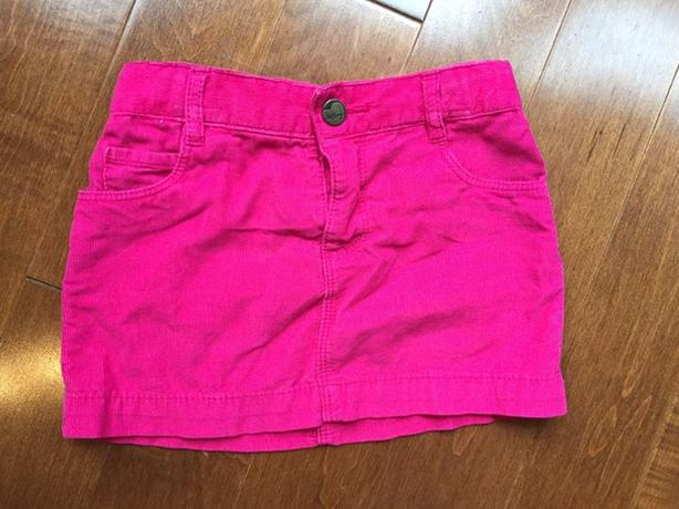 Worn once Old Navy adjustable waist cord skirt size 2
