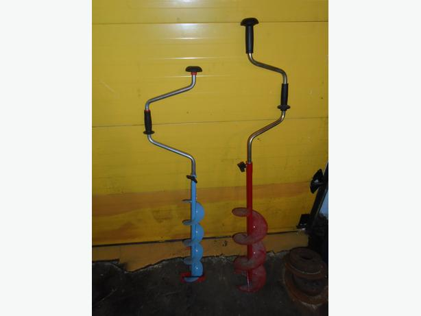 2 ice augers