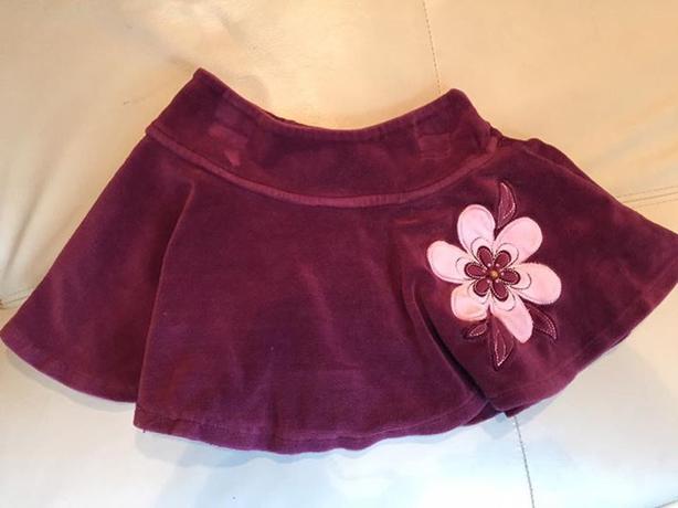 Size 2 Velour Skirt