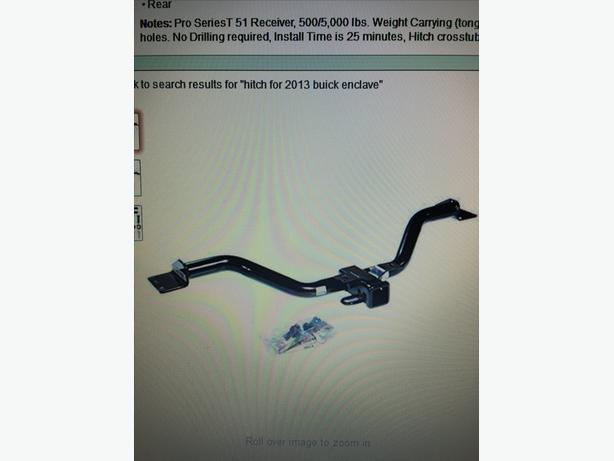 PRO SERIES 51083 class 3 hitch for Enclave/Acadia