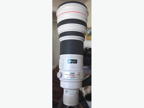 Canon EF 600mm f/4 L iS USM Lens