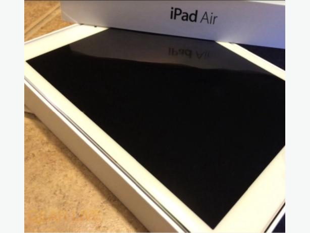 Apple Ipad Air white and silver 16 gb