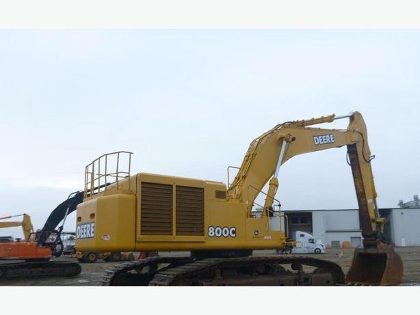 John Deere 800C LC Excavator Parts