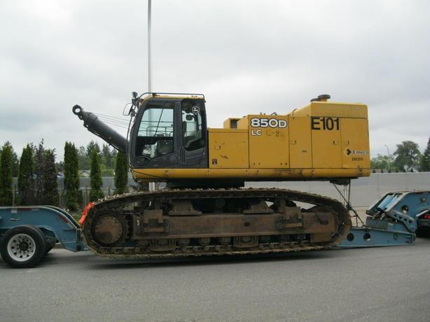 John Deere 850D LC Excavator Parts