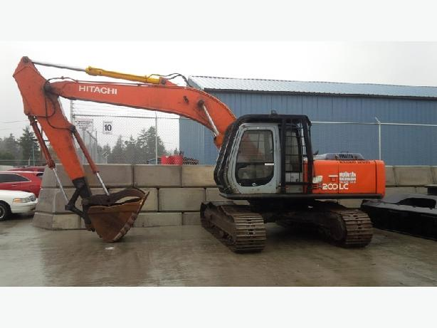 Hitachi EX200-5 Excavator Parts