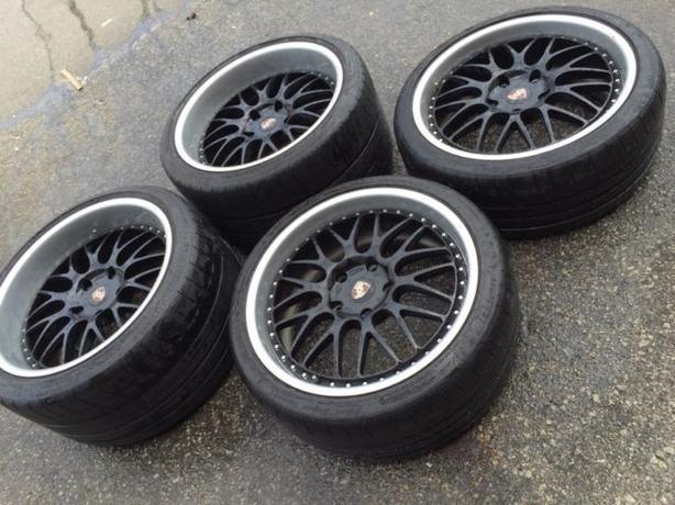"""19""""HRE 540R Forged + 235/35/19 & 305/30/19 Michelin- PORSCHE 911"""