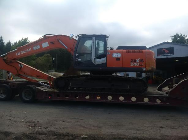 Hitachi ZX240 LC-3 Excavator Parts
