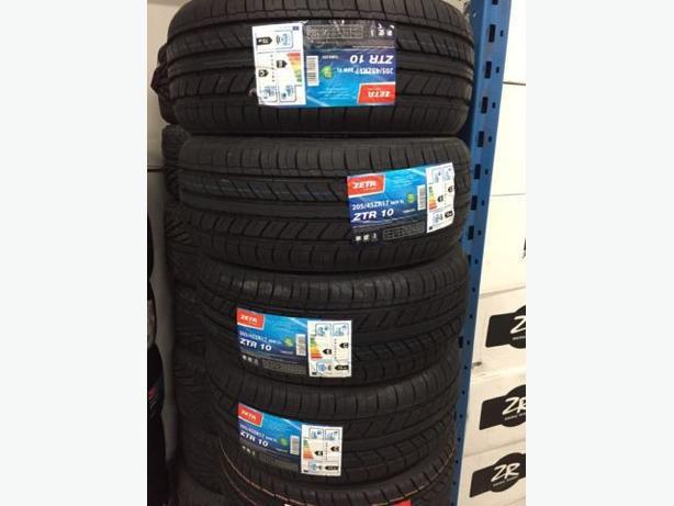 Four BRAND NEW 205/45/R17 ZETA ZTR-10 performance Tires!!