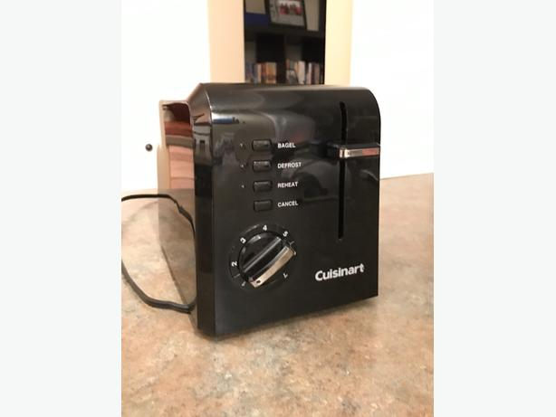 Black Cuisinart Toaster