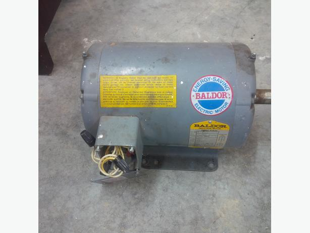 Baldor 5HP 3 phase electric motor