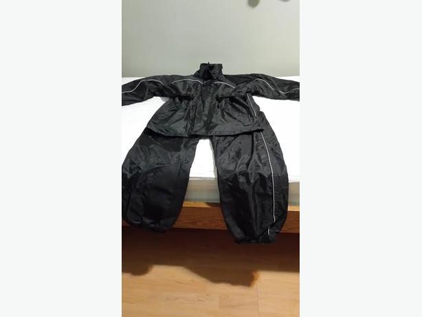 motorcycle rain suit