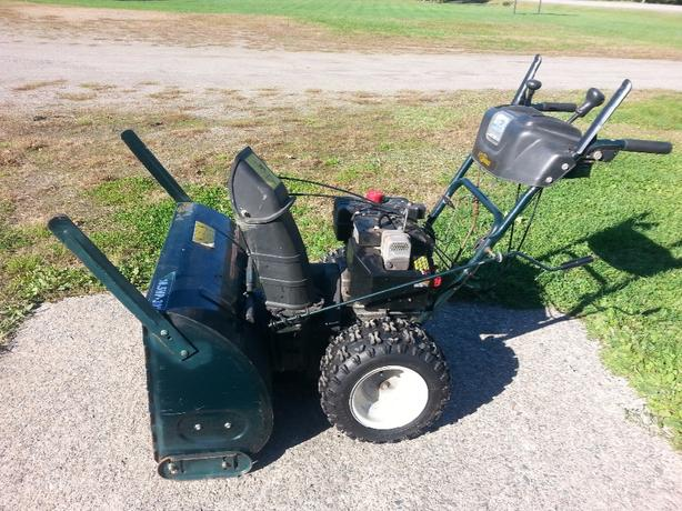"Yardworks snowblower,  30"" 10.5 HP."