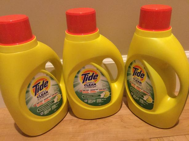 NEW ~ 3 bottles of Tide Simply Clean 38 loads