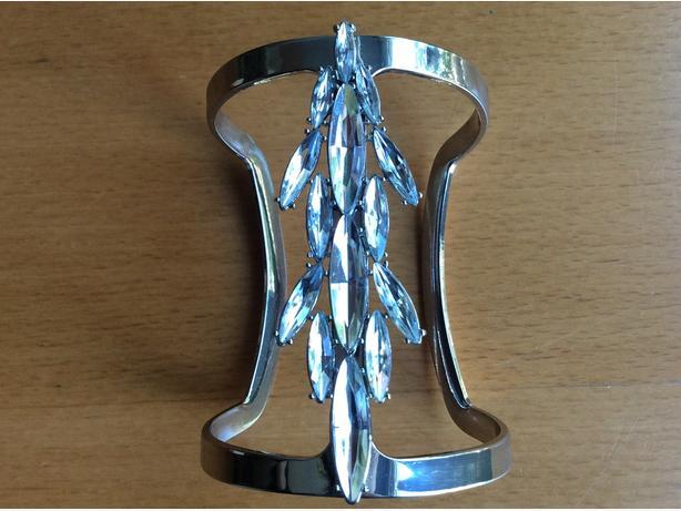 BCBGMAXAZRIA T-cuff bracelet