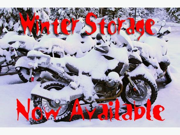 Motorcycle Winter Storage $50 per month