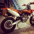 2013 ktm 450sxf supermoto/dirt