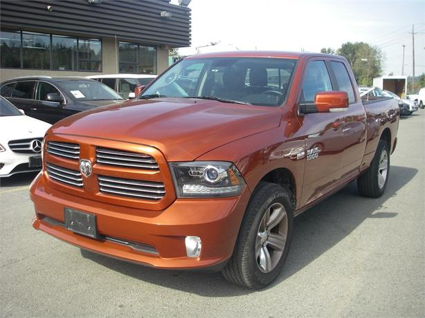 2013 Dodge 1500 Sport Quad Cab Short Box 4WD