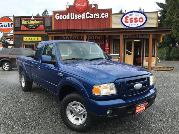 2007 Ford Ranger Sport Extra Cab - Looks & Drives Fantastic