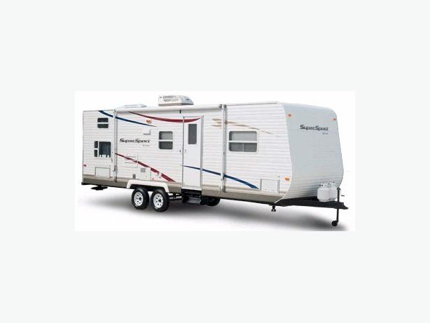 2008 30 ft Queen Bunkhouse Trailer