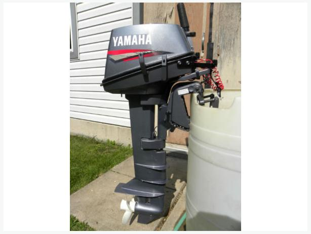 Yamaha 8hp 2 stroke long shaft