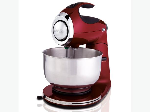 Sunbeam Mixmaster Die Cast Stand Mixer, Red