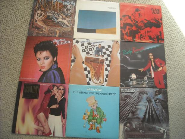 BOX of RECORDS FOR SALE