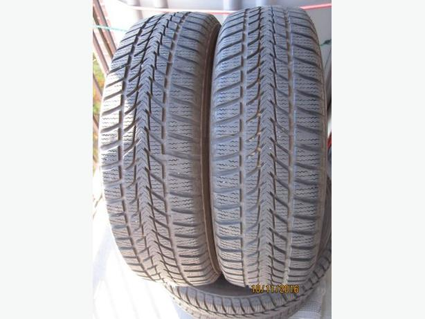 Set of 4 winter tires 175/65/15 in very good condition