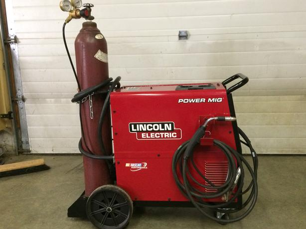 Lincoln electric power mig 256