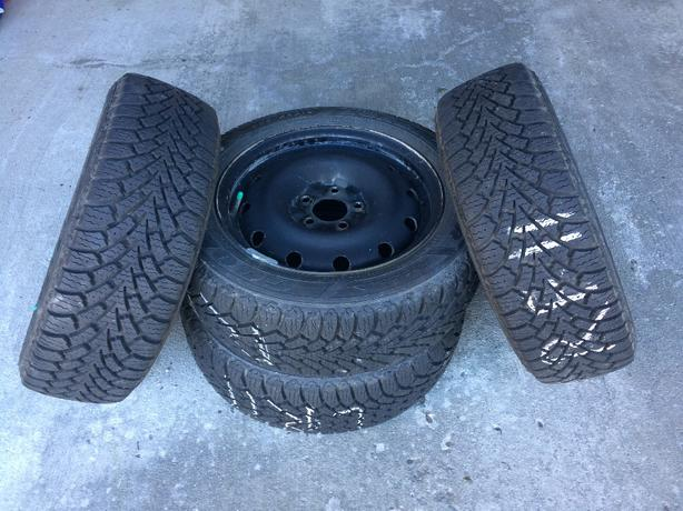 205/55R16 Winter tires & rims