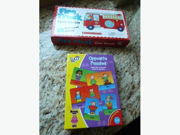 3 children's puzzles