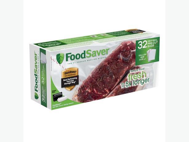 FoodSaver Gallon Heat Seal Pre-Cut Bags (32 Count)