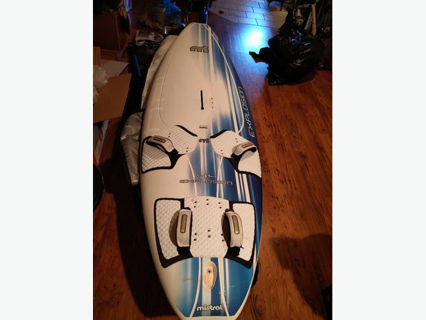 Three complete windsurf set ups all for the price of 500