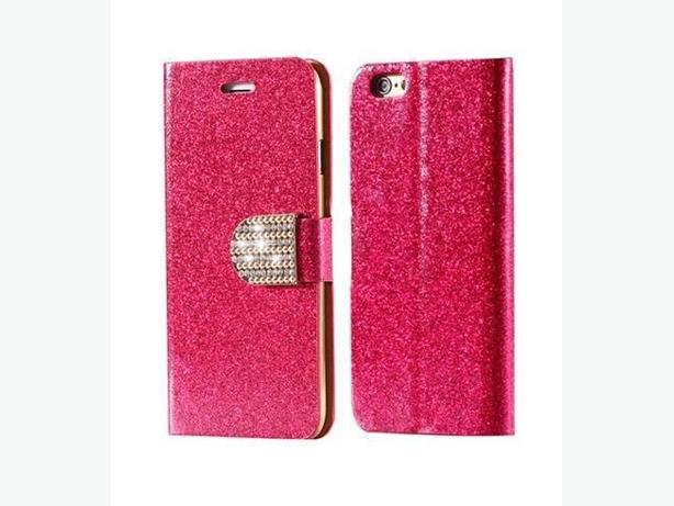 Bling Flip Magnetic Wallet Leather Case For Apple iPhone 7