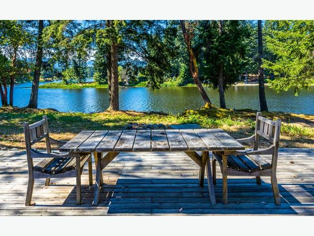 Rare, Spectacular Lakefront Estate in Yellow Point!