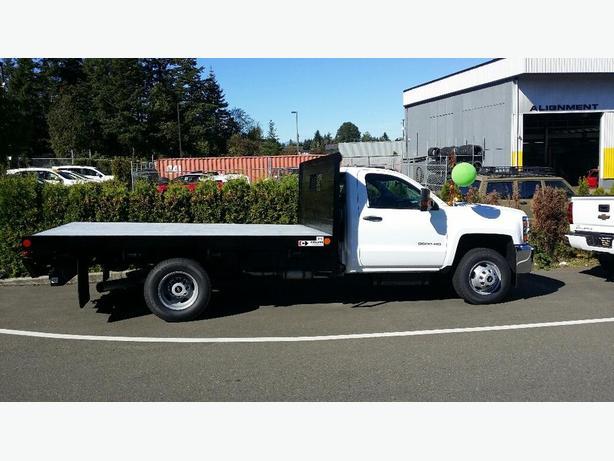 2016 Chevrolet Silverado 3500HD Flat Deck!!