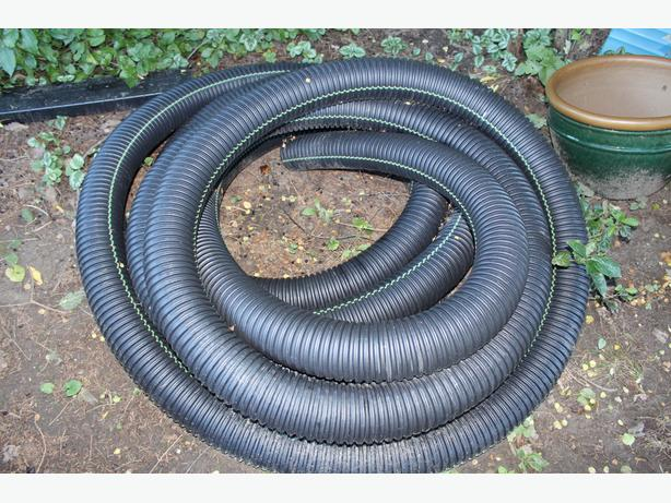4 inch flex pipe non perforated