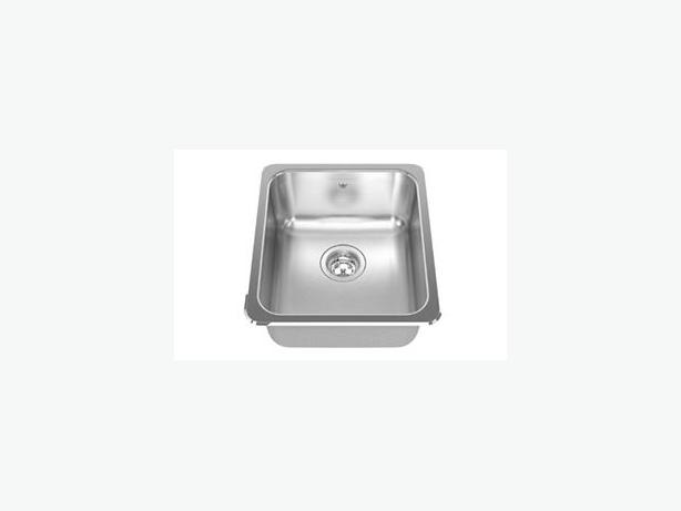 KINDRED QS1816/8 STAINLESS STEEL SINGLE SINK