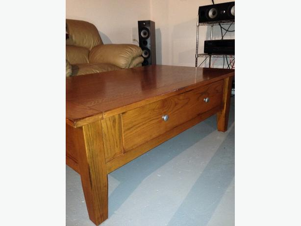 Solid Wood Coffee Table And End Tables Sault Ste Marie